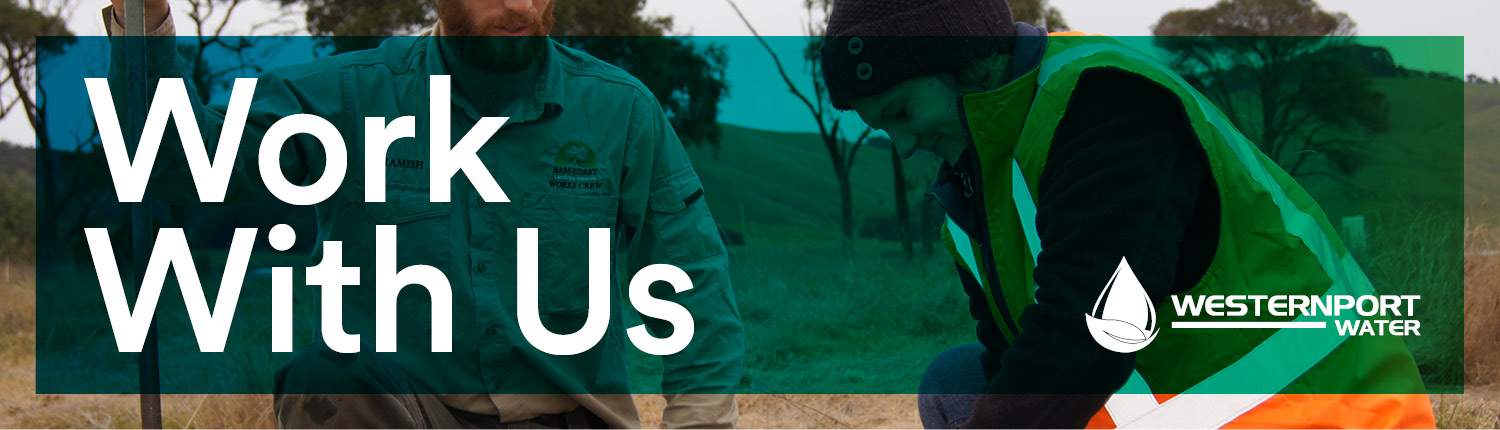 Work with us banner
