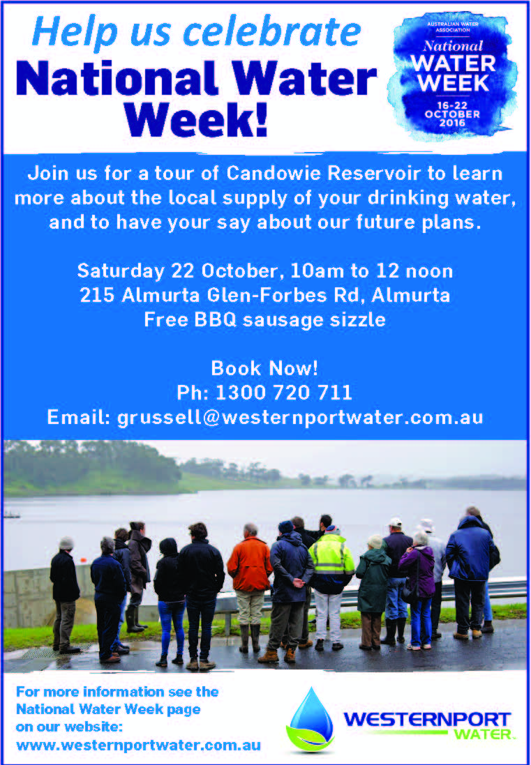 National Water Week Open Day