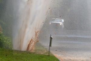 Water burst emergency