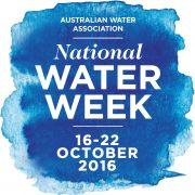 National Water Week 2016 logo