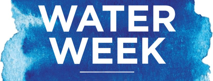 National Water Week 2016 logo