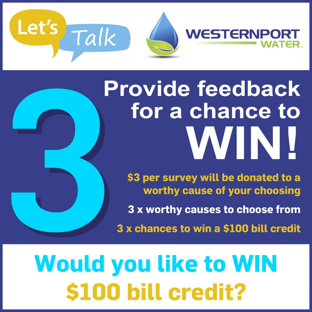 Let's Talk $100 bill credit competition