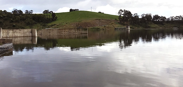 Candowie Reservoir reaches capacity