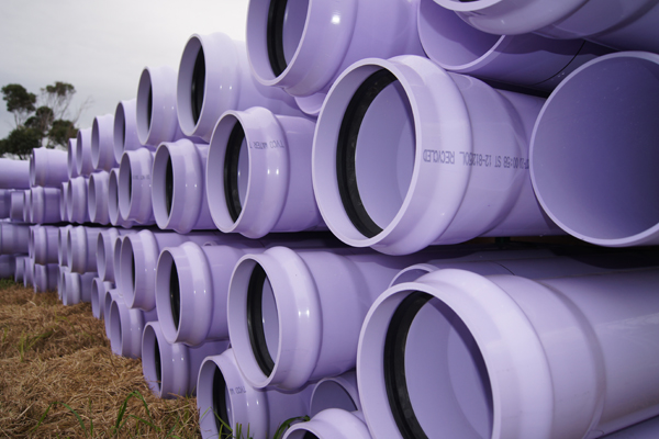 Recycled Water pipes