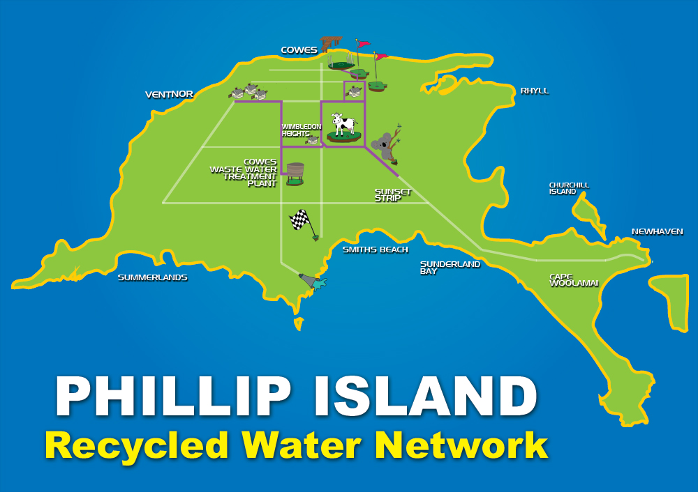 Recycled Water Network map