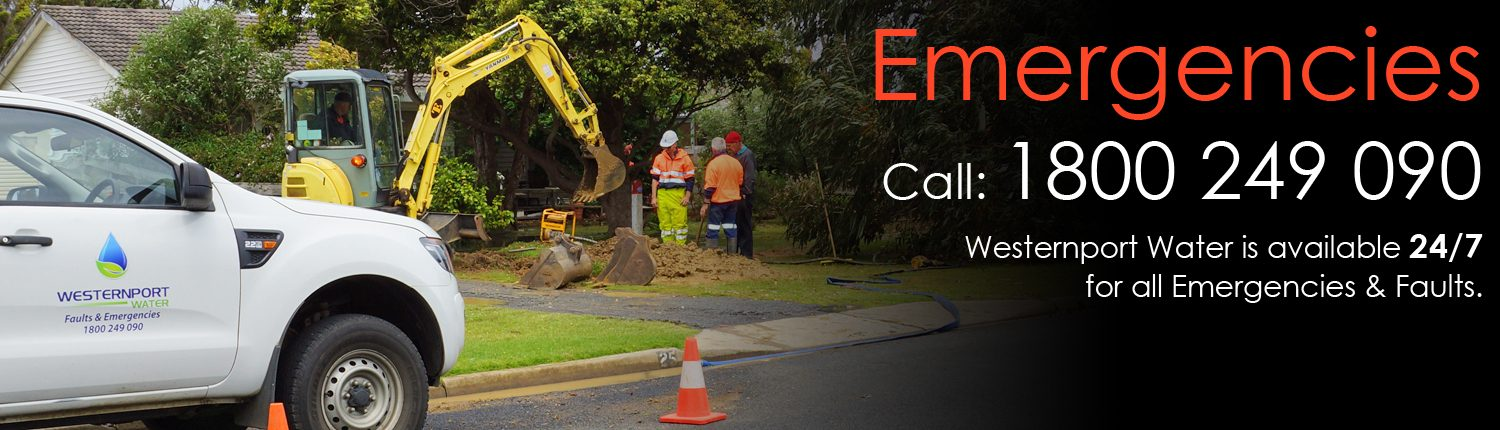 Report a Fault or Emergency, call 1800 249 090