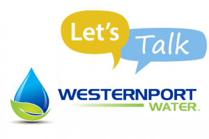 Let's Talk and Westernport Water logo