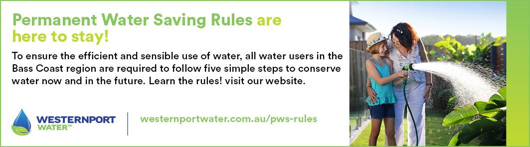 Permanent Water Saving, family watering garden