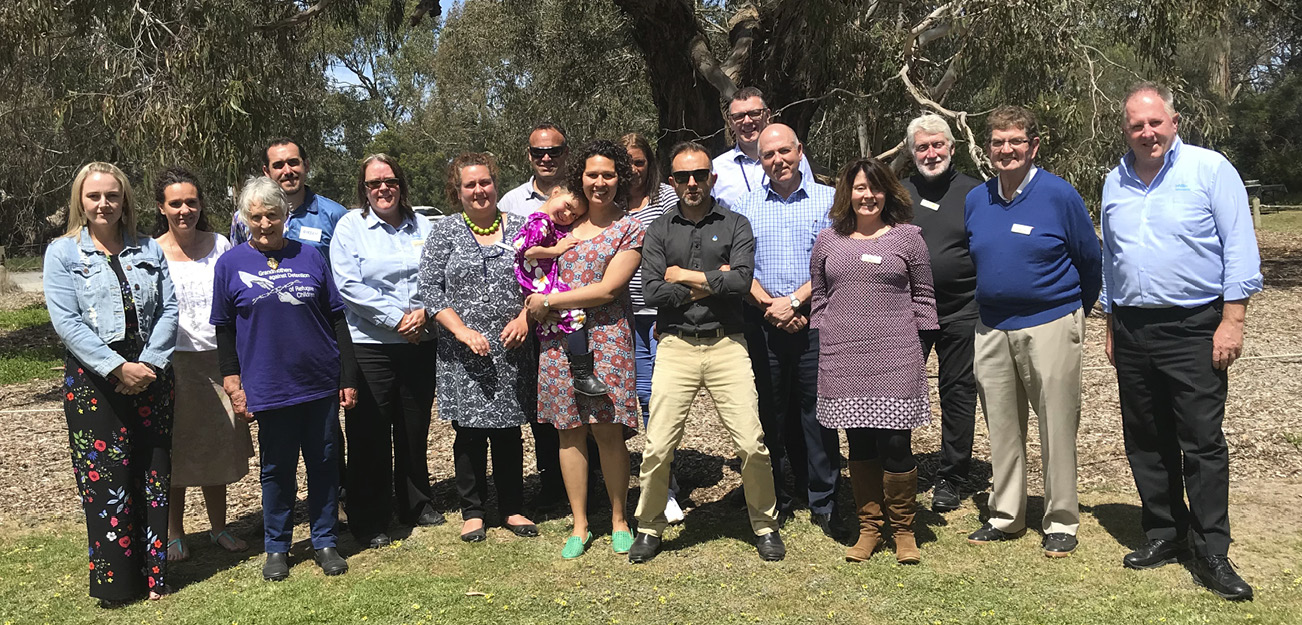 Attendees from inaugural Regional Reconciliation Network meeting