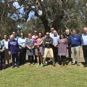 Attendees at the inaugural Regional Reconciliation Network meeting
