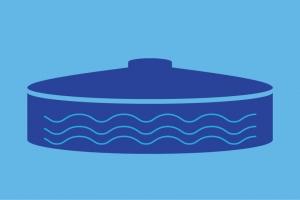Water tank large