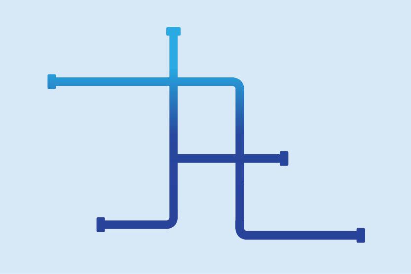 Pipeline grid