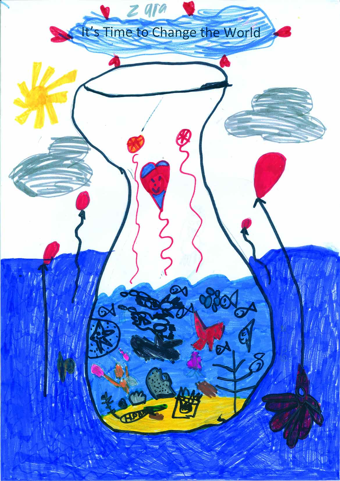 Prep 2019 Winner - Zara Schnerring - Cowes Primary School