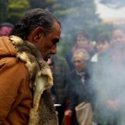 Uncle Mik Edwards, Chair of Bunurong Land Council Aboriginal Corporation